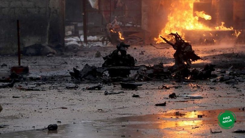 Explosion in Maiduguri