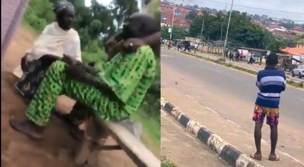 Heartbreaking video of Jimoh Isaiq's father weeping uncontrollably after his son was killed by policemen at an #EndSARS protest in Ogbomoso