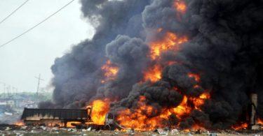 BREAKING: Gas Explosion rocks Baruwa area of Lagos