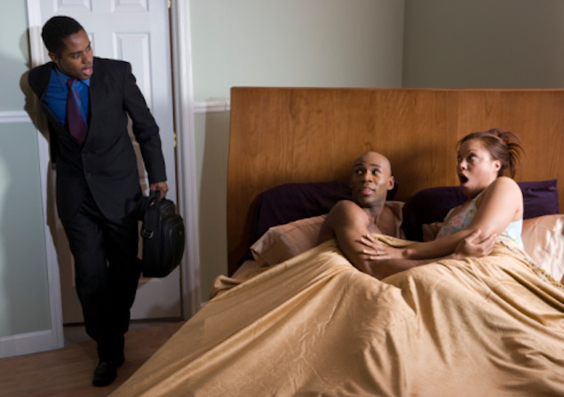 I caught my wife sleeping with one of my workers in my house - Mc Ebisco