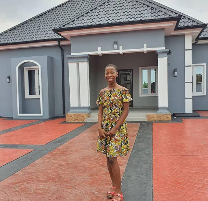 Emmanuella speaks on house gift